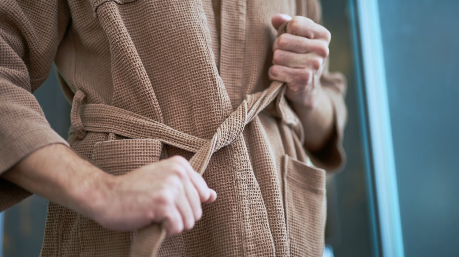 What Is The String Inside A Robe For