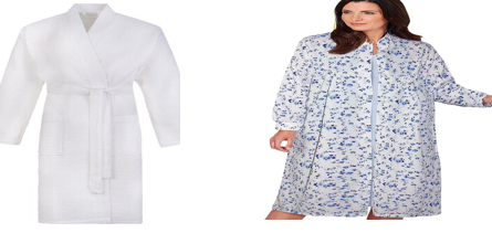 What is the difference between a bathrobe and a housecoat
