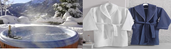 Best robes for hot tub in winter